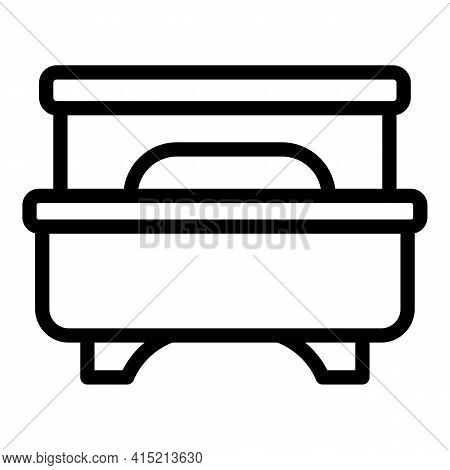 Lounge Furniture Icon. Outline Lounge Furniture Vector Icon For Web Design Isolated On White Backgro