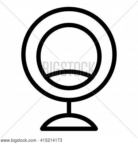 Cozy Armchair Icon. Outline Cozy Armchair Vector Icon For Web Design Isolated On White Background
