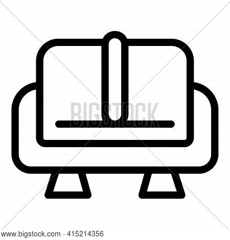 Lounge Rest Sofa Icon. Outline Lounge Rest Sofa Vector Icon For Web Design Isolated On White Backgro