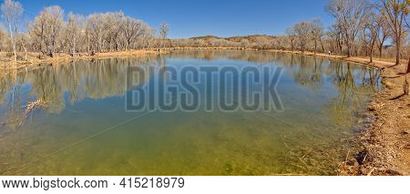 One Of 3 Lagoons At Dead Horse Ranch State Park Arizona. This One Is Called The East Lagoon.