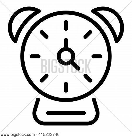 School Lunch Time Icon. Outline School Lunch Time Vector Icon For Web Design Isolated On White Backg