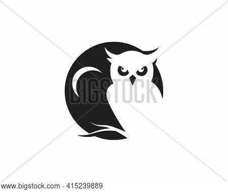 Owl Icon Vector Illustration
