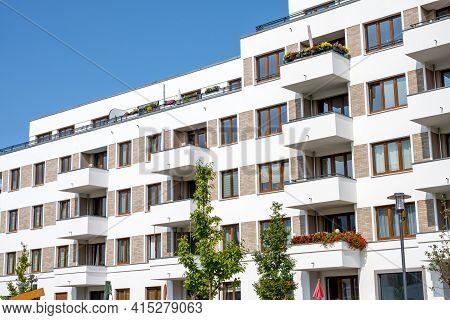 Modern Multi-family Apartment Buildings In Berlin, Germany
