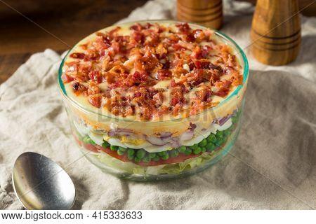 Homemade Seven Layer Salad