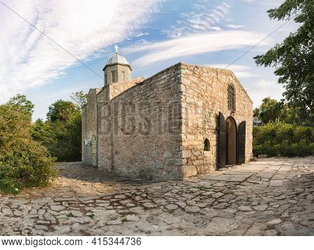 The Building Of The Church Of The Iveron Icon Of The Mother Of God-the Parish Church Of The Theodosi