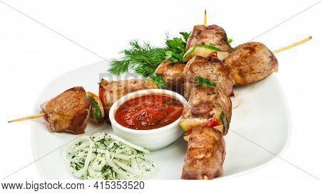 Seekh Kebab Tasty And Delicious Kebab Fresh And Healthy Food Lunch Dinner Breakfast Homemade Restaur