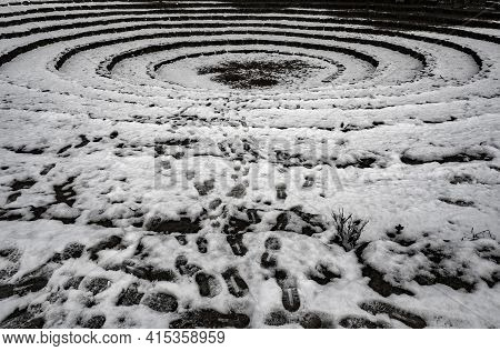 A Nice Picture Of The Roman Theater On Neroberg, Wiesbaden, Hessen, Germany , An Intresting Photo