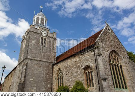 Close Up Isolated View Of The Historical Church Of St Thomas The Apostle, The Main Anglican Church I