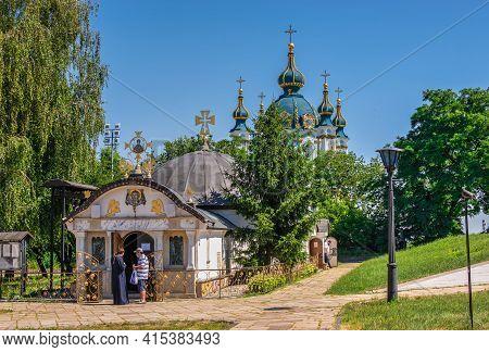 Church Of St. Nicholas Of Myra In Kyiv, Ukraine