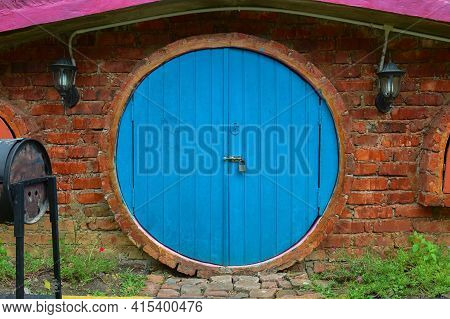 Kuala Selangor, Malaysia: April 2nd 2021- The Hobbit House Located In Kuala Selangor Malaysia