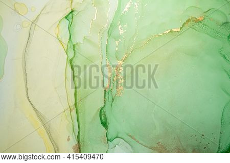 Color Abstract Background Liquid. Alcohol Inks On Paper. Multicolor Flow Mix. Fluid Marble Paint. Ab