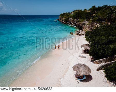 Playa Kalki Curacao Tropical Island In The Caribbean Sea, Playa Kalki Western Side Of Curacao Caribb
