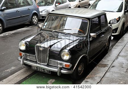 Wolseley Hornet Vintage Car