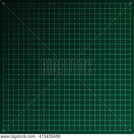 Grid For Futuristic User Interface Hud. Virtual Technology, Digital Screen Interface, Hud, Ui, Gui C