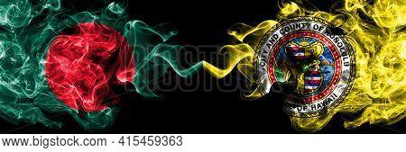 Bangladesh, Bangladeshi Vs United States Of America, America, Us, Usa, American, Honolulu, Hawaii Sm