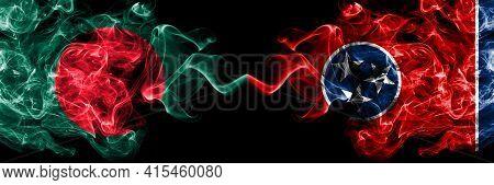 Bangladesh, Bangladeshi Vs United States Of America, America, Us, Usa, American, Tennessee Smoky Mys