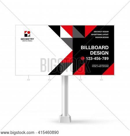Billboard Design, Outdoor Advertising Banner For, Modern Style