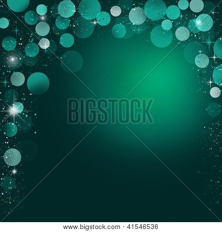 Mystical Beautiful Abstract Holiday Background With Stars With Space For Text