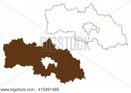 Neustadt An Der Waldnaab District (federal Republic Of Germany, Rural District Upper Palatinate, Fre