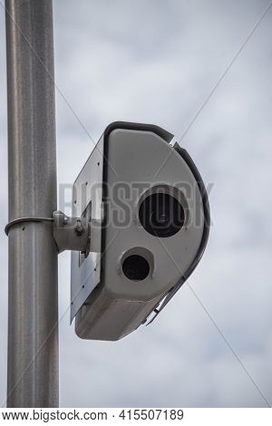 Chicago Speed Camera At State And Chicago Installed To Catch People Who Are Speeding