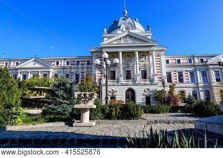 Bucharest, Romania, 22 November 2020 - Main Historical Building Of Coltea Hospital On Ion Bratianu B