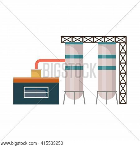 Isolated Object Of Warehouse And Garage Logo. Collection Of Warehouse And Storage Stock Vector Illus