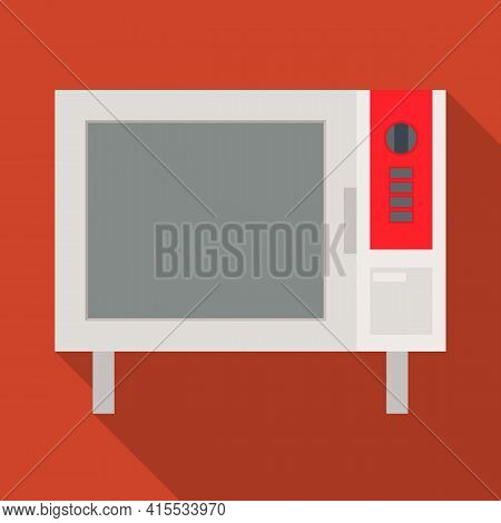 Isolated Object Of Oven And Convection Sign. Web Element Of Oven And Microwave Stock Vector Illustra
