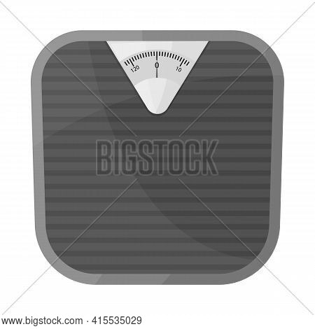 Vector Design Of Scales And Diet Icon. Web Element Of Scales And Balance Stock Symbol For Web.