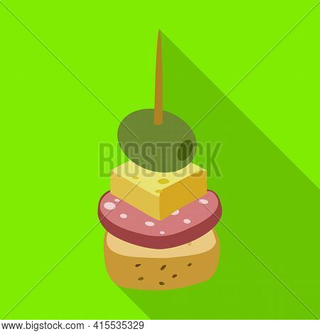 Canape Vector Icon.flat Vector Icon Isolated On White Background Canape .
