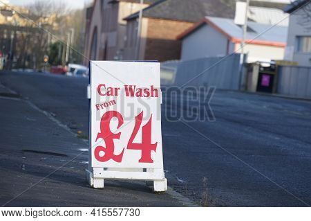Car Wash Sign Open All Day Cheap Prices Sign