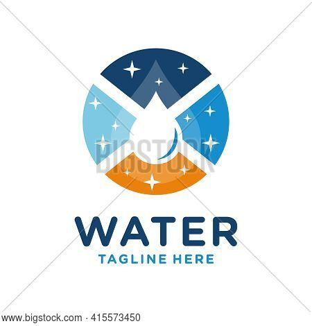 Modern Mineral Water Industry Logo Design Your Company