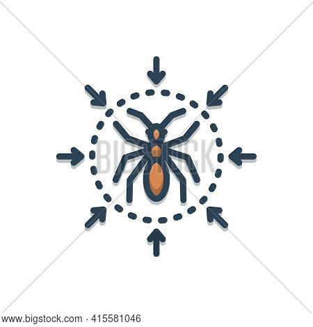 Color Illustration Icon For Pest-control Pest Control Insect Termite  Extermination