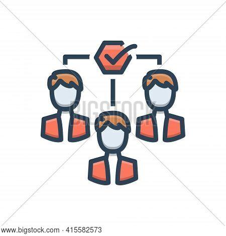 Color Illustration Icon For Team-motivation Team Motivation Impellent Encourage Persuasive
