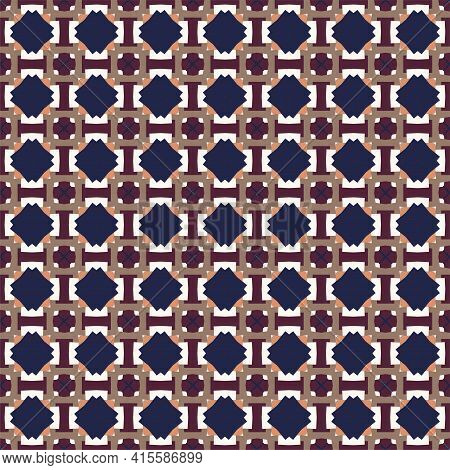Abstract Pattern Seamless. Vector Background. Geometric Design.