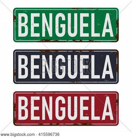 Angola Benguela Road Sign Symbol Travel And Business