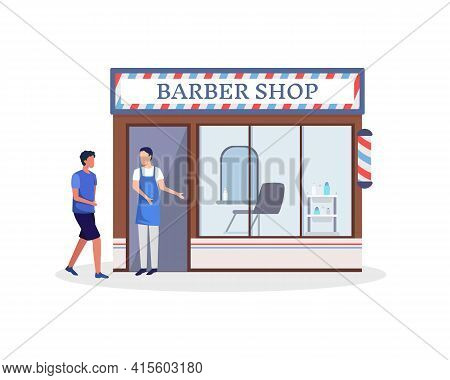 Man With The Haircut Business