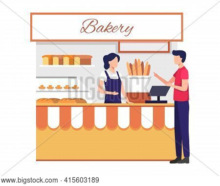Cake And Bakery Shop