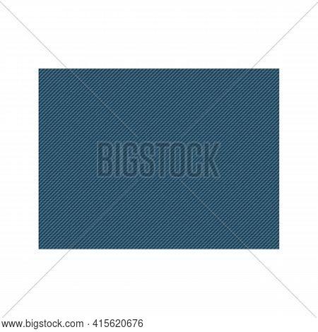 Blue Denim Rectangle Poster Blue Cotton Jeans Rectangle.