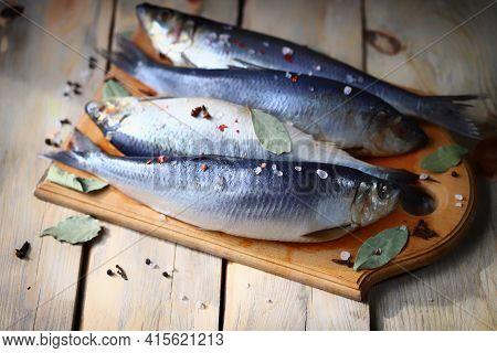 Spicy Salted Herring. Whole Salted Herring. Norwegian Herring. Saltwater Fish Omega 3.