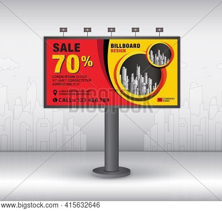 Billboard Template Design2021-no14