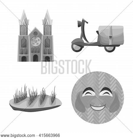 Vector Illustration Of Vietnam And Traditional Icon. Set Of Vietnam And Exotic Vector Icon For Stock