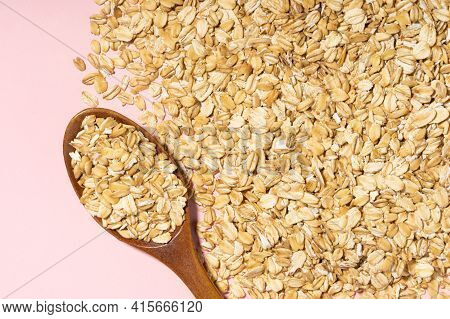 Avena Sativa Is Scientific Name Of Oat Cereal Grain. Also Known As Aveia Or Avena. Healthy Grains On