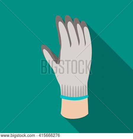 Vector Illustration Of Glove And Hand Sign. Graphic Of Glove And Gauntlet Stock Vector Illustration.
