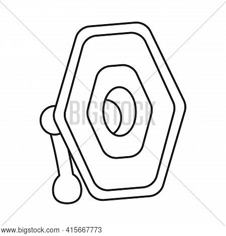 Isolated Object Of Projector And Lamp Sign. Web Element Of Projector And Photo Stock Symbol For Web.