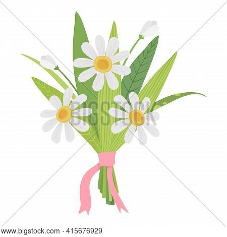 Holiday Spring Flower Bouquet Icon. Cartoon Of Holiday Spring Flower Bouquet Vector Icon For Web Des