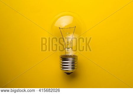 Tungsten Bulbs. Old Generation Lamps. Incandescent Lamp.