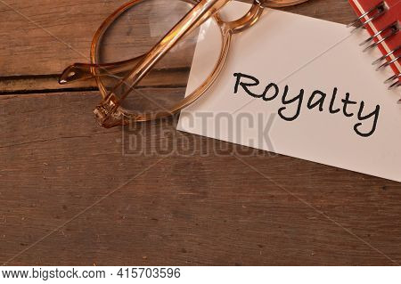 Top View Of Memo Note Written With Royalty