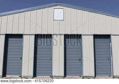 Self Storage And Mini Storage Garage Units.