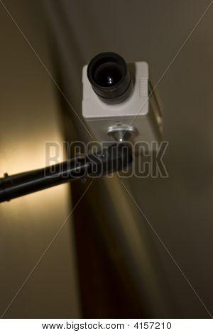 Security Camera At Night