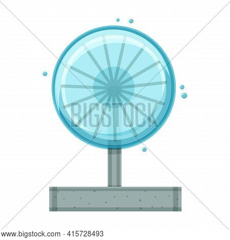 Fountain Vector Icon.cartoon Vector Icon Isolated On White Background Fountain.